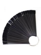 Палитра веерная (ЧЕРНАЯ) на 50 оттенков