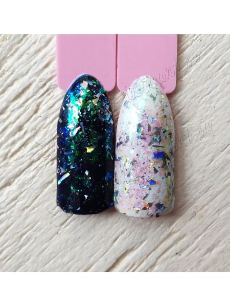 Хлопья для дизайна ногтей  Galaxy №7