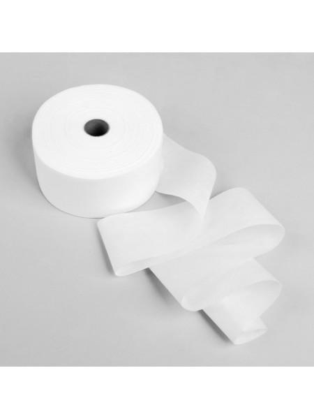 Полоски для депиляции 7х20 см, полиэстер, белые, 250 шт. в рулоне с перфорацией